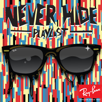 NEVER HIDE_CD Cover