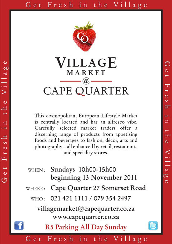 Village Market Flyer