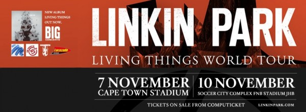 linkin park in sa