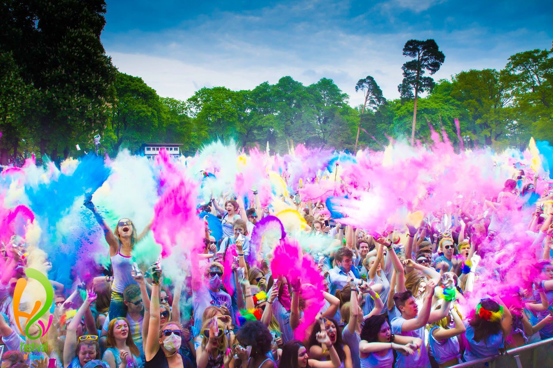 Holi Festival of Colours Johannesburg  YCLAD  A South African Pop