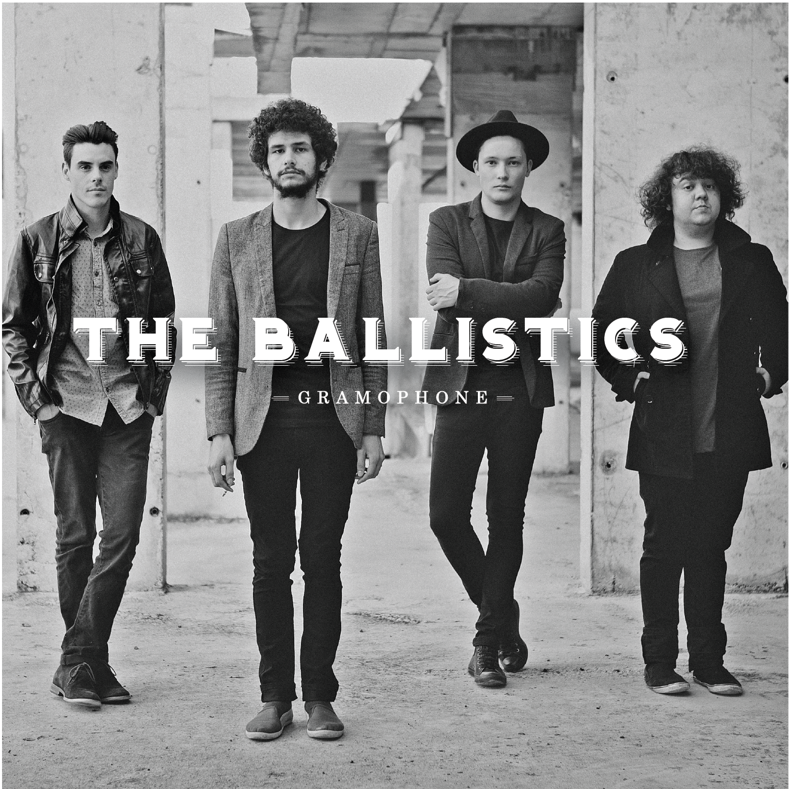 The Ballistics - Gramophone - cover