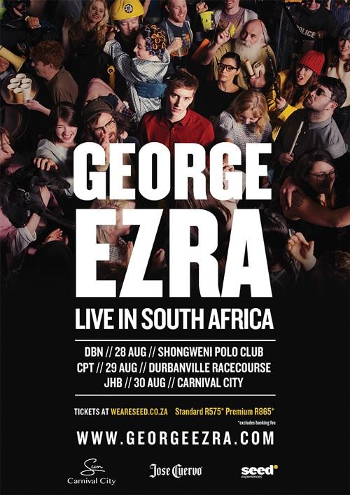 George Ezra live in SA