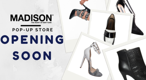 madison footwear pop up store opening