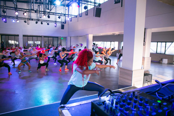 Red Bull womens month fitness event