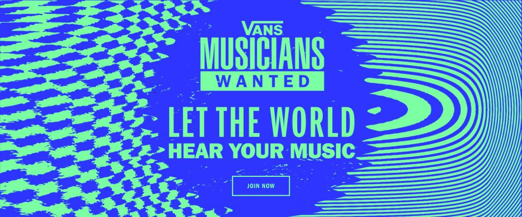 Vans Launches 'Musicians Wanted' Global Music Competition