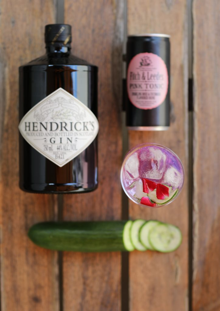 hendricks gin and tonic