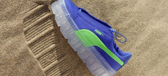 PUMA FENTY Cleated Creeper Surf Blue Green