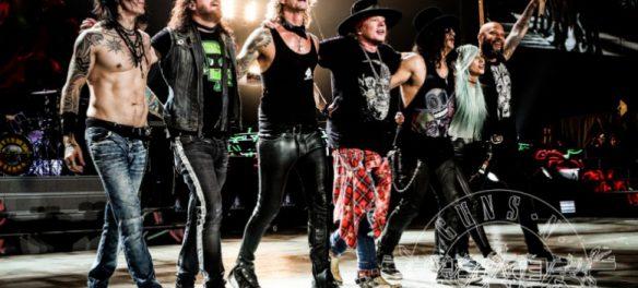 Guns N' Roses tour 2018
