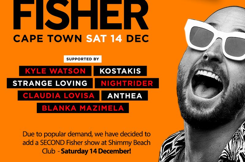 fisher live at shimmy beach