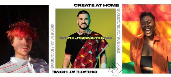 #creatathome j'something